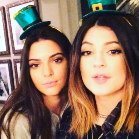 Happy St. Patrick's Day from the Jenners