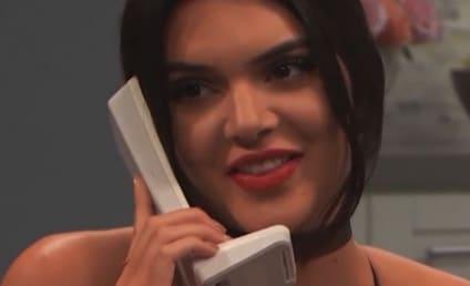 Kendall Jenner Tells Kim She's Pregnant, Kim Doesn't Care