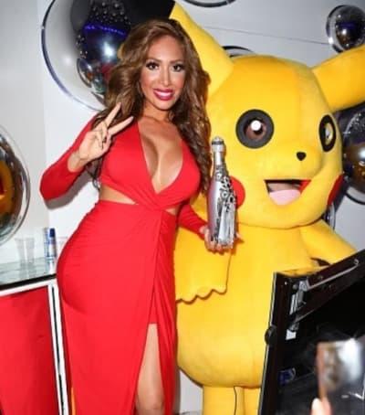 Farrah Abraham With Pikachu