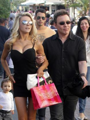 Courtney Stodden and Doug Hutchison in Los Angeles