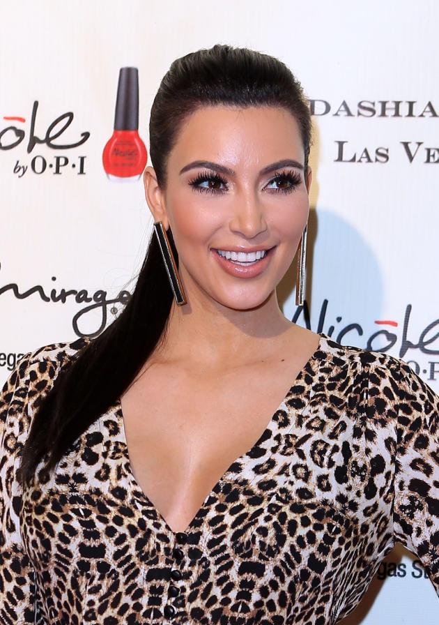 Kim Kardashian Vegas Appearance