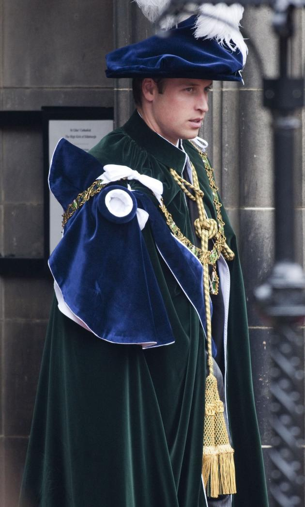 Prince William Knighted