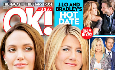 Angelina Jolie vs. Jennifer Aniston: The Race to the Fake Altar!