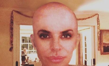Lisa Rinna bald