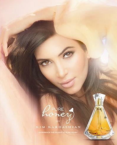 Kim Kardashian Perfume Poster