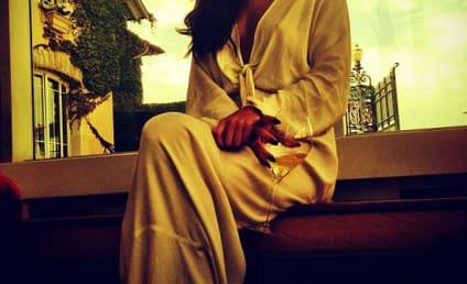 Selena Gomez Posts Sexy Instagram Photo From Paris, Drinks Wine