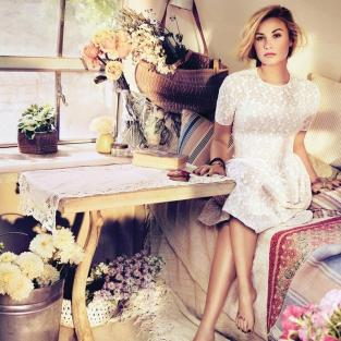 Demi Lovato in Teen Vogue