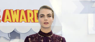 Cara Delevingne at MTV Movie Awards
