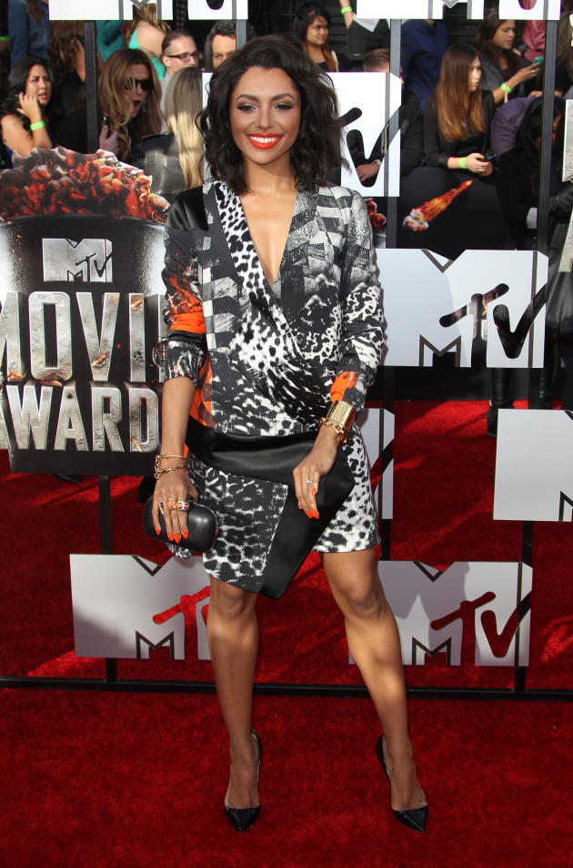 Kat Graham at 2014 MTV Movie Awards