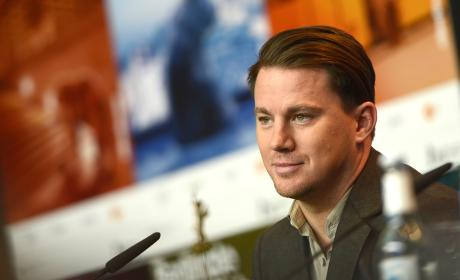Channing Tatum: 'Hail, Caesar!' Press Conference in Germany