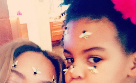 Beyonce and Blue Selfie