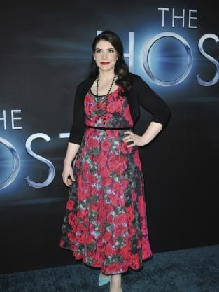Stephenie Meyer at Host Premiere