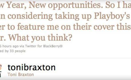 Toni Braxton Nude in Playboy: Coming Soon?