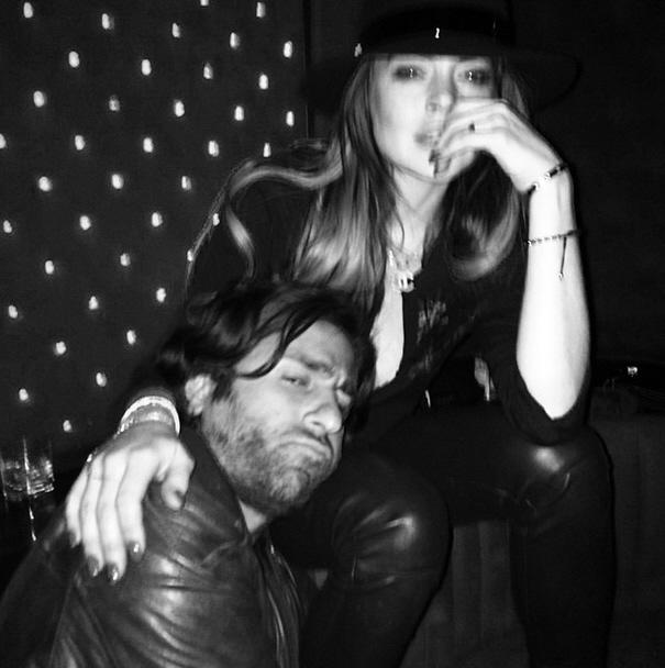 Lindsay Lohan Drunk in the Club?