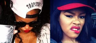 """Teyana Taylor, Rihanna Feud on Twitter Over """"Caught Up in the Rapture"""" Mockery"""
