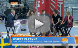 Matt Lauer Interviews One Direction