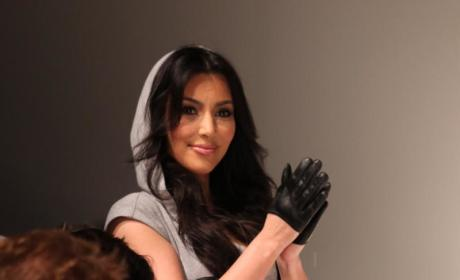 Kim Kardashian Khristens New Kollection on NYC Katwalk