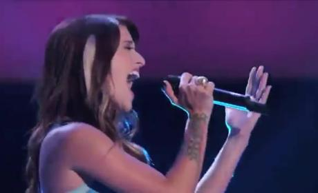Cassadee Pope on The Voice: An Unfair Advantage?