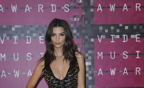 Emily Ratajkowski at the VMAs