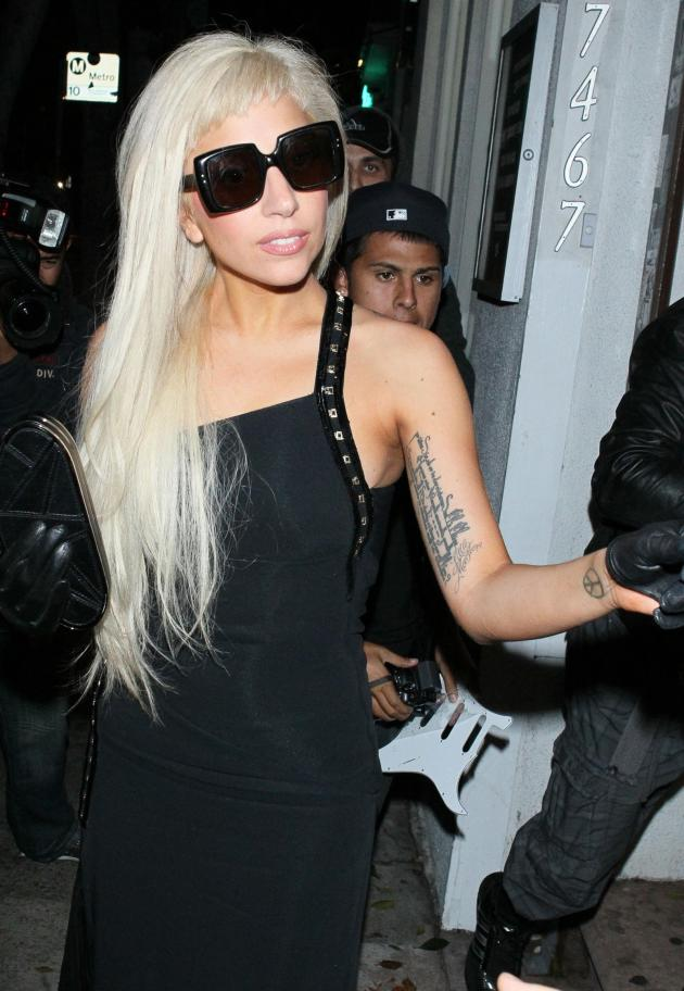 Lady Gaga in Black