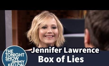Jennifer Lawrence Versus Jimmy Fallon