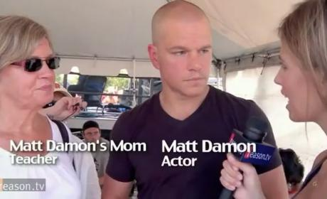 Matt Damon Defends Teachers, Tenure, Lashes Out at Reporter
