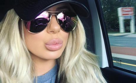 Brielle Biermann: Check Out My Duck Lips!