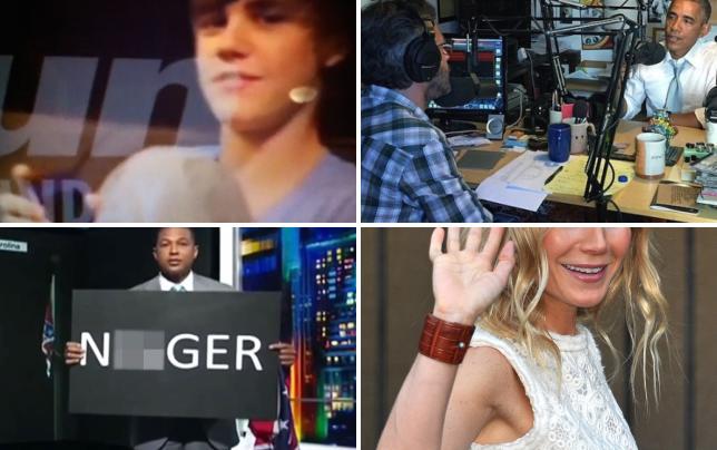Justin bieber racist joke