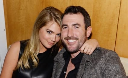 Kate Upton and Justin Verlander: Spotted at Super Bowl Party!