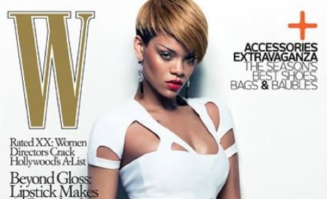 Rihanna: W Magazine Cover Girl