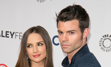 Daniel Gillies and Rachael Leigh Cook