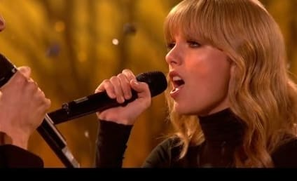 """Taylor Swift Debuts """"The Last Time"""" on The X Factor UK"""