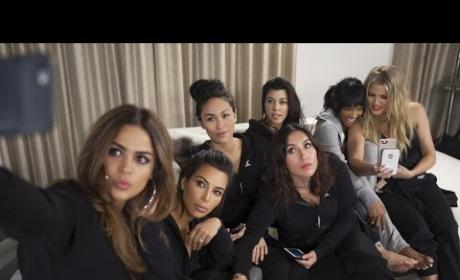 "The Kardashian Plays ""Marry, F-ck Kill"" with Friends Cast"