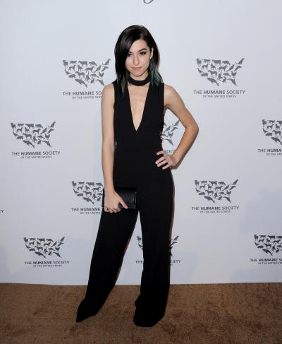 Christina Grimmie: The Humane Society of the United States' to the Rescue Gala