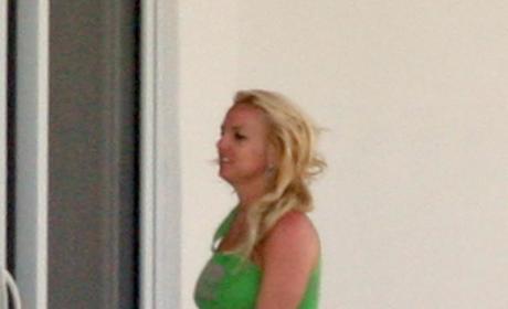 Britney in Pajamas