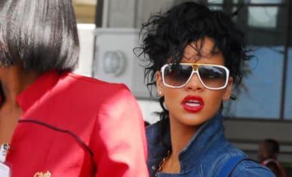 Rihanna Arrives Home in Barbados