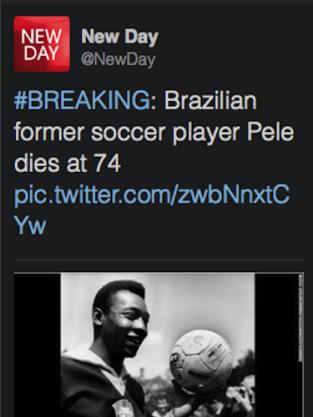 Pele Dead?