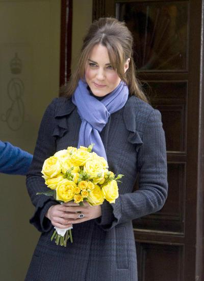 Pregnant Kate Middleton Pic