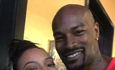 Karrueche Tran and Tyson Beckford