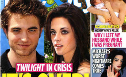 Robert Pattinson and Kristen Stewart: It's Over!