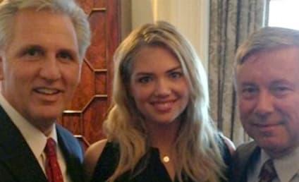 Kate Upton Celebrates Lamest 21st Birthday Ever, Congressman's Nephew Wants Date