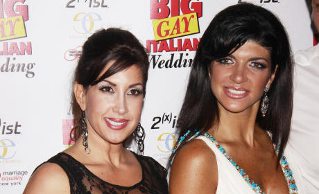 Teresa Giudice and Jacqueline Laurita