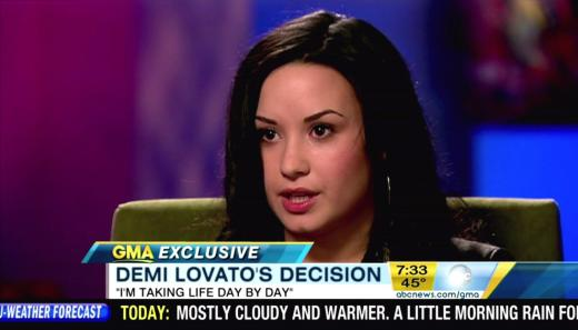 Demi Lovato 20/20 Interview Pic