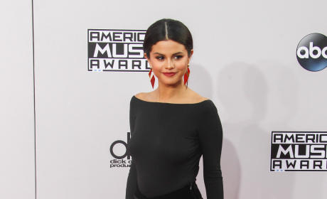 Selena Gomez at the American Music Awards