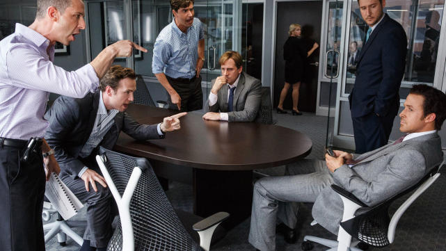 Best adapted screenplay the big short