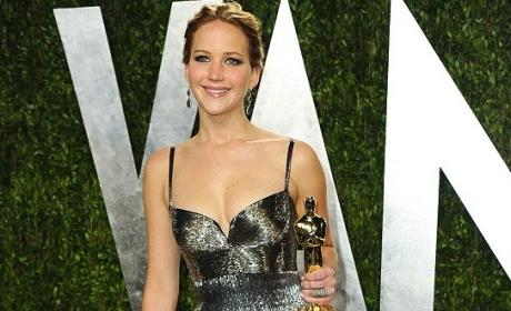 Jennifer Lawrence Oscars Dress: Dazzling in Dior Haute Couture