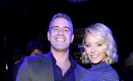 Andy Cohen and Kelly Ripa: Radio Andy Launch