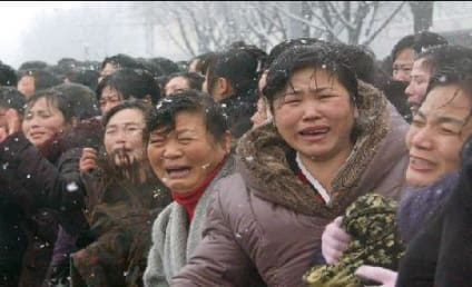 North Korea Residents: REALLY Sad Over Death of Kim Jong-Il