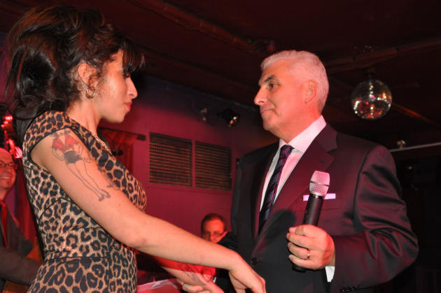 Mitch With Amy Winehouse