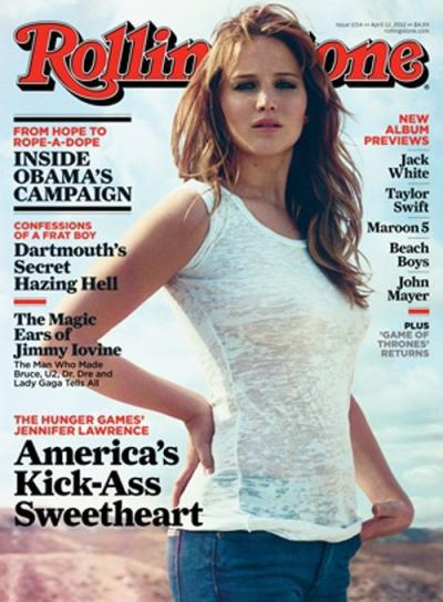 Jennifer Lawrence Rolling Stone Cover
